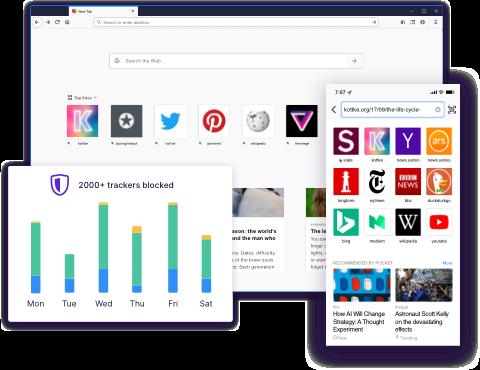 Arriva Firefox 70.0 e porta maggior privacy, più sicurezza, prestazioni migliorate e una nuova icona