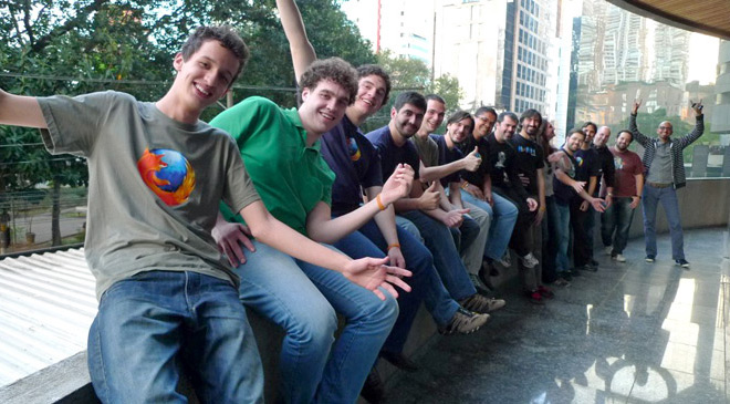 ブラジルコミュニティの集会