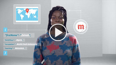 Watch this video about teaching the next generation of Webmakers