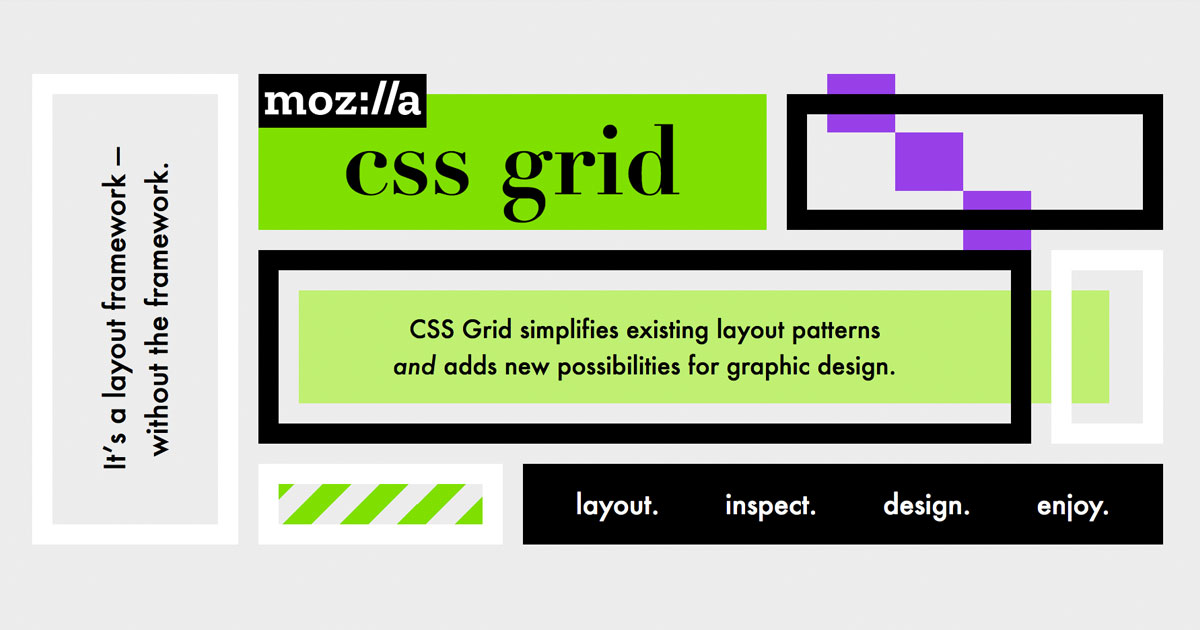 css grid and grid inspector in firefox mozilla. Black Bedroom Furniture Sets. Home Design Ideas