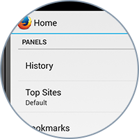 After adding content to your home panel, you can customize things further by choosing how the content is displayed.